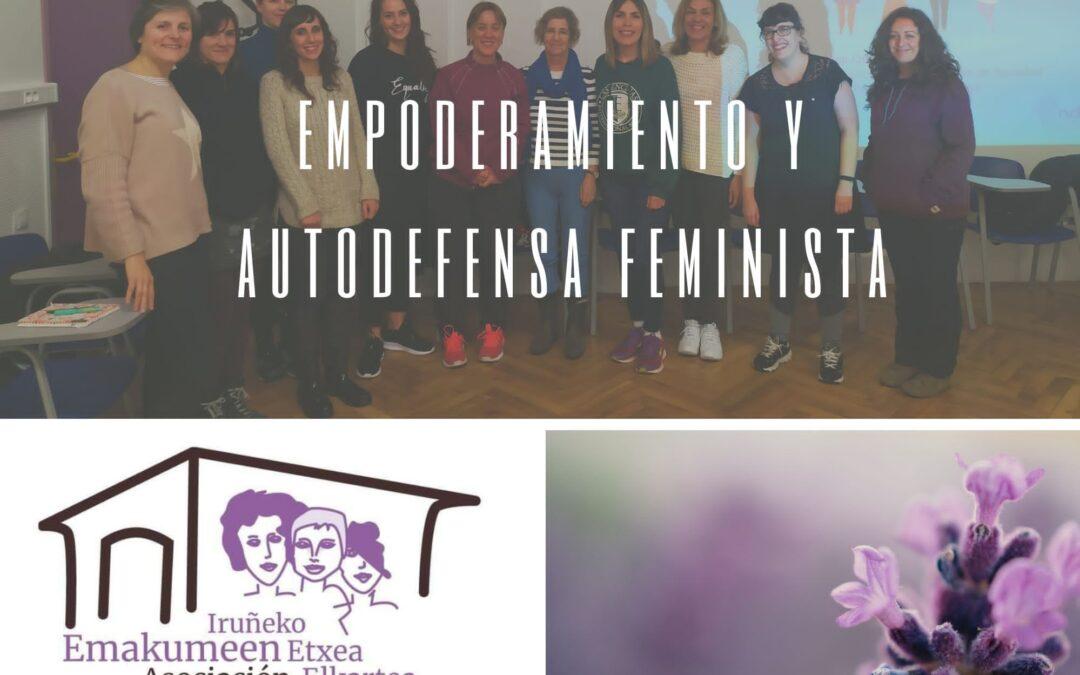 Autodefensa Feminista en la Casa de las Mujeres de Pamplona/Iruñeko Emakumeen Etxea