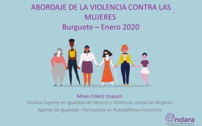 Abordaje de la Violencia contra las Mujeres. Auritz / Burguete