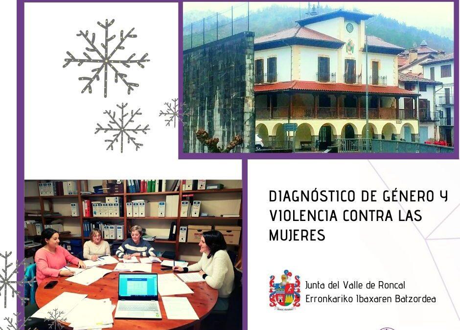 Primera sesión de trabajo en Valle de Roncal para la elaboración del Diagnóstico de Género y Violencia contra las Mujeres