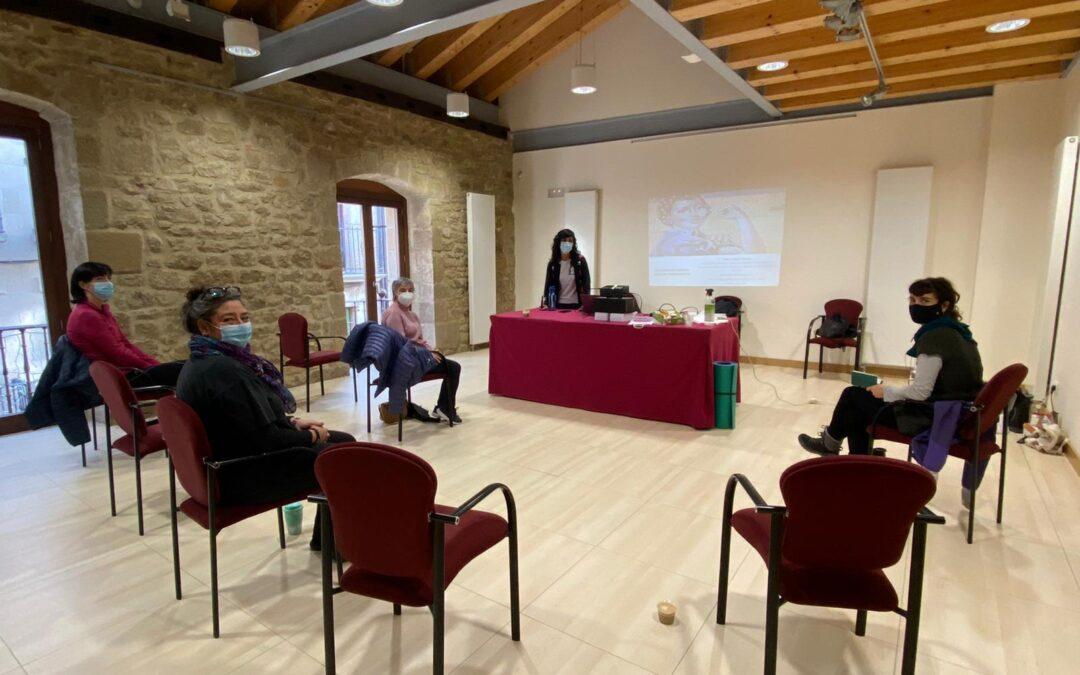 Taller con las mujeres de Laguardia (Rioja Alavesa)